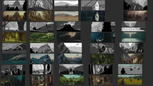 composition studies - LotR 14.02. by Nialthstrasz