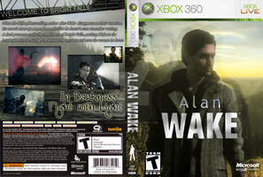 Alan Wake Custom Cover by StarfireEspo