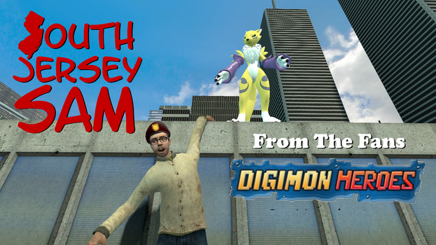 South Jersey Sam - From The Fans: Digimon Heroes by SouthJerseySam