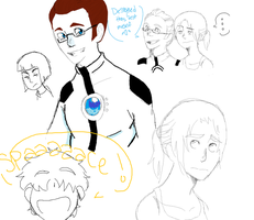 Portal Doodles by canadianpeanutbuter