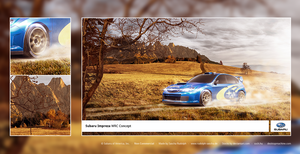 Subaru Rallye Composing by Carl06