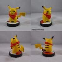 Female Pikachu Mystery Dungeon Amiibo by ChibiSilverWings