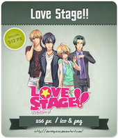 Love Stage!! - Anime Icon by Darklephise