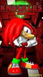 Knuckles the Echidna - Iphone Wallpaper by Knuxy7789