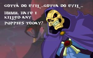 FACT: Skeletor Hates Puppies by BenjaminTDickens