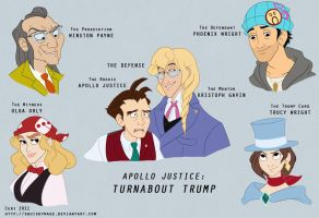 Turnabout Trump by squishymage
