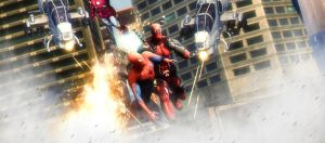 Deadpool save Spidey by AngryRabbitGmoD