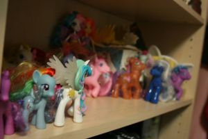 My Little Pony and My Little Pony FIM Collection by AnimeEmm