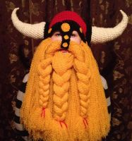 New York Red Bulls Fan Viking Hat by Drgibbs