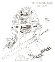 Space Marine by Bou87