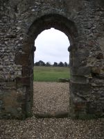 Knowlton Church Ruin 13 by LadyxBoleyn