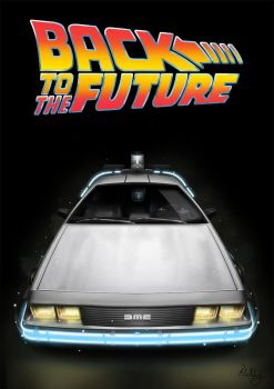 Back to the future DeLorean by paatoo