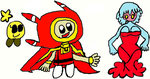 STARLOW, DREAMBERT AND MERRI THE JELLYFISH SISTER by DEVIOUS-DISCORD-RP