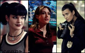 Women of NCIS by McProbie