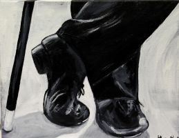 Tap Dancer by ThisArtToBeYours