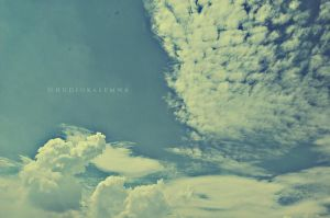 Clouds after summer by hudiokalemwa