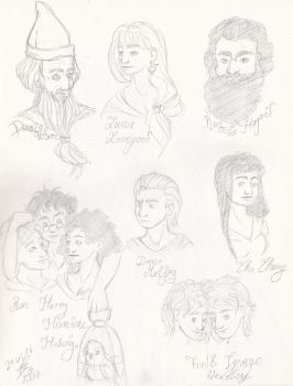 Part of the Potter-Cast by Takara-Phoenix