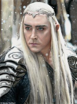 Thranduil (drawing) by Quelchii