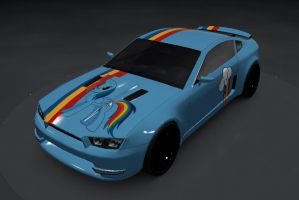 Trackmania RBD Car skin by SmockHobbes