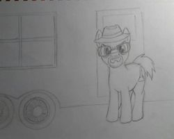 Walter White as Heisenberg as a pony by Bill-the-Pony