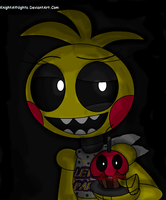 Scary CE - Toy Chica by KnightAtNights