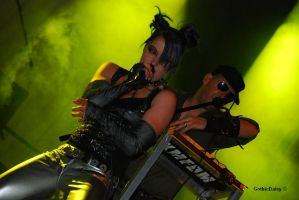 KMFDM 1 Castle Party 2009 by GothicDaisy