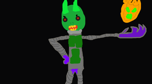 My Green Goblin Design by TheUltimateSpiderFan