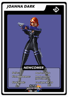 Joanna Dark Newcomer Card by birdman91