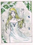 # White Lady of Lothlorien by whooah