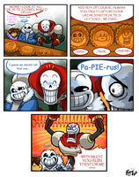 Undertale - Pies by WarGreymon43