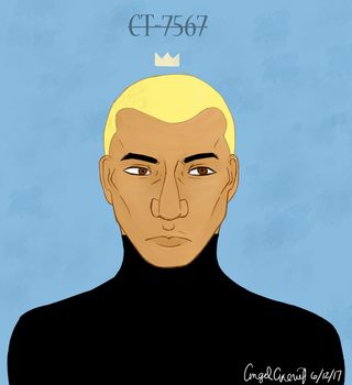 Captain Rex- Colored by AngelAxexinf