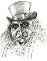 Danny DeVito as the Penguin by Caricature80