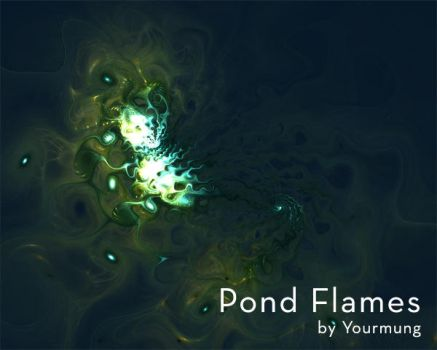 Pond flames wallpapers by Yourmung