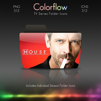 Colorflow TV Folder Icons: House by Crazyfool16