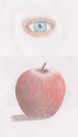 Colored pencil practice by ToaEnemis
