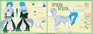 Snow Official Reference 2011 by SnowyCakes