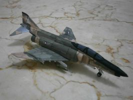 1/144 McDD F-4E Phantom II by Rajaahsani