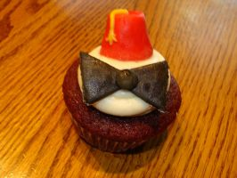 11th Doctor Cupcakes by XOpalmtreesOX