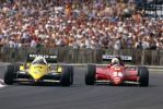Alain Prost   Rene Arnoux (Great Britain 1983) by F1-history
