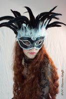 Burlesque Mask by DanielleFioreModel