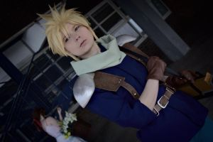 Cloud and Aerith ~ by SerinuCeli