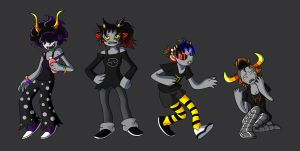 Homestuck genderbend'in by BubblegumShotgun