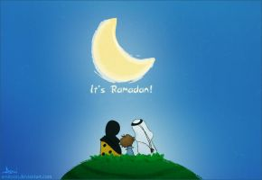 It's Ramadan by amitoon