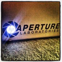 Aperture Science HP Powered by DeadGreySnow