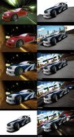 BMW M3 Most Wanted WIP by brianspilner