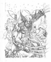 UD Legendary wolverine Dark City by Kevin-Sharpe