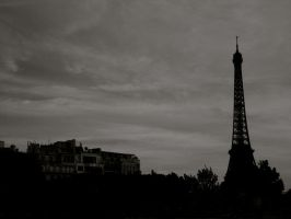 Cloudy Tower by avril72381
