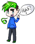 Chibi JSE with Sam by LeslieElena19