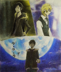 DRRR: Izaya and Shizuo by cholokmosooki