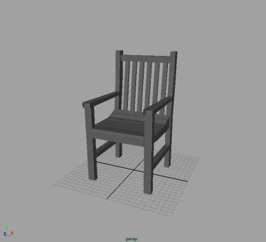 MAYA Chair by dark-idle-pixie